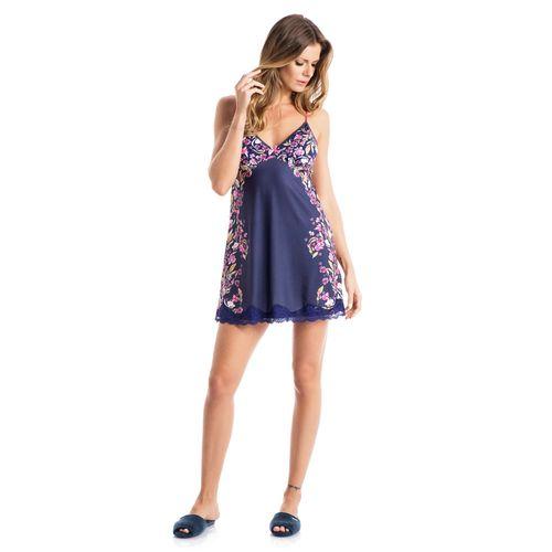 652c621f65b239 Feminino - Pijamas - Camisola AZUL G – danielatombini