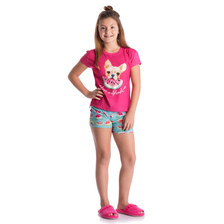 5439fac3b50d36 Short Doll Melancia Infantil