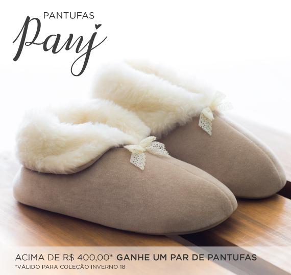 Brinde Pantufa Panj