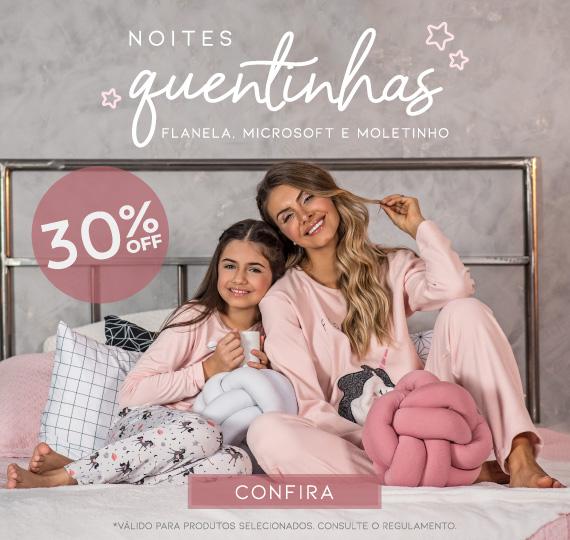Quentinhos 30 OFF junho