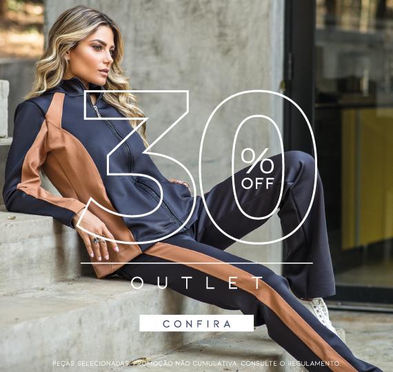 Outlet 30% OFF NOVEMBRO