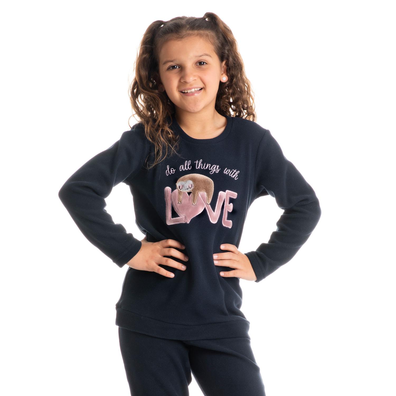 Pijama Soft Longo Infantil