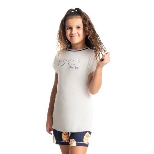 Pijama-Infantil-Feminino-Curto-Estampado-Puppy-Daniela-Tombini