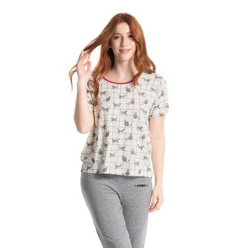 Pijama-Cropped-Fun-Cats-Daniela-Tombini