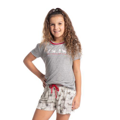 Pijama-Infantil-Feminino-Curto-Fun-Cats-Daniela-Tombini