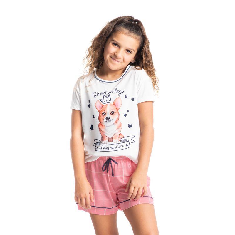 Pijama-Infantil-Feminino-Curto-Estampado-Cute-Daniela-Tombini