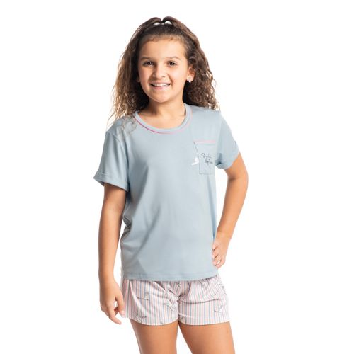 Pijama-Infantil-Feminino-Curto-Estampado-Cats-Daniela-Tombini