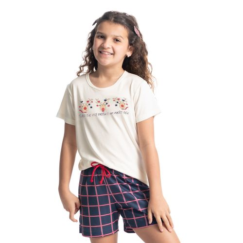 pijama-infantil-feminino-curto-xadrez-jingle-bells-daniela-tombini