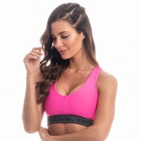outlet fitness top pink.