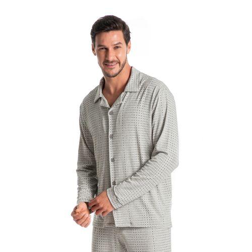 Pijama-Masculino-Abotoado-Estampado-Longo-Henrique-daniela-tombini