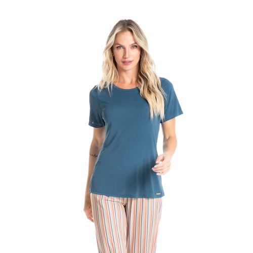 Pijama-Longo-Manga-Curta-Estampado-Mari-daniela-tombini