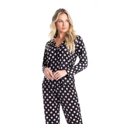 Pijama-Abotoado-Longo-Em-Poa-Sara-daniela-tombini
