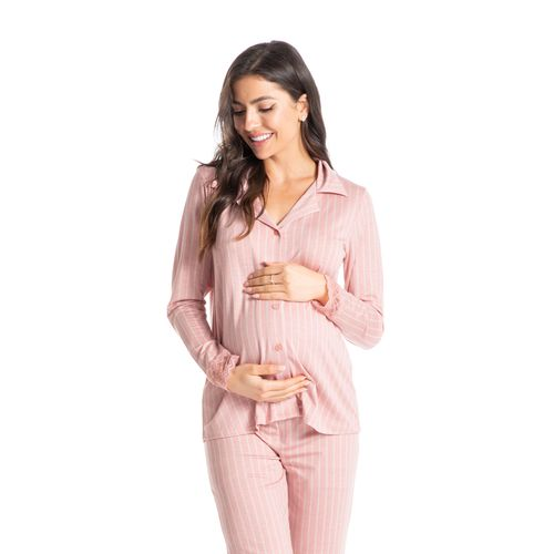 Pijama-Abotoado-Longo-Estampado-Mirian-Daniela-Tombini