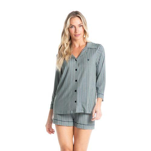 Pijama-Abotoado-Curto-Estampado-Liza-Daniela-Tombini