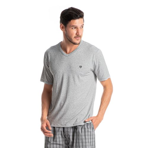 Pijama-Masculino-Curto-Xadrez-Com-Bolso-Dado-Daniela-Tombini