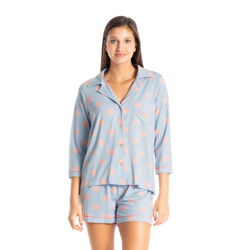 Pijama-Zen-Dots-Curto-Abotoado-Daniela-Tombini