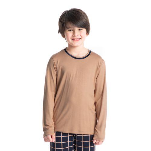 Pijama-Infantil-Masculino-Xadrez-Longo-Loyalty-Daniela-Tombini