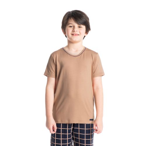 Pijama-Infantil-Masculino-Xadrez-Curto-Loyalty-Daniela-Tombini