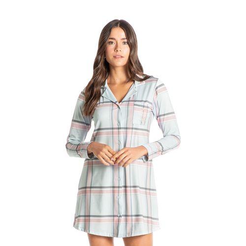 Camisao-Abotoado-Curto-Xadrez-Caroline-Daniela-Tombini