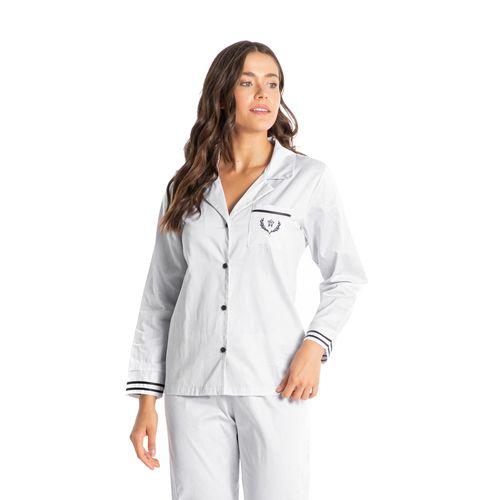 Pijama-Abotoado-Longo-Em-Algodao-Egipcio-Catarina-Daniela-Tombini