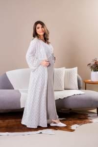 robe longo femino para maternidade