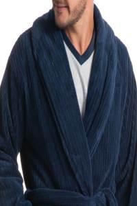 robe longo masculino azul