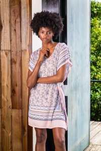 robe pijama camisa manga curta