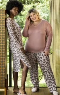 pijama feminino animal print