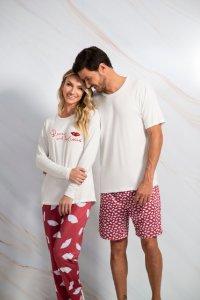 Pijama família do Outlet Daniela Tombini