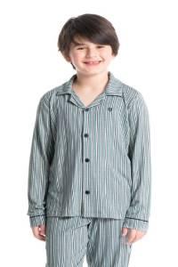 pijama americano infantil listrado