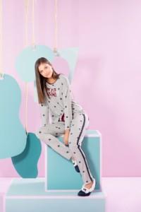 Pijama juvenil feminino