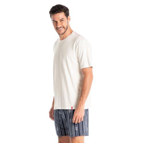 Pijama-Masculino-Curto-Estampado-Cordas-Daniela-Tombini