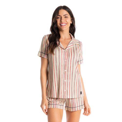 Pijama-Curto-Abotoado-Stripes-Daniela-Tombini