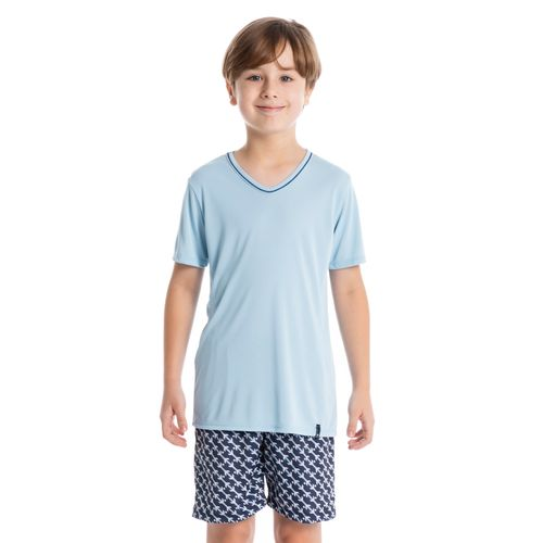 Pijama-Infantil-Masculino-Curto-Clovis-Daniela-Tombini