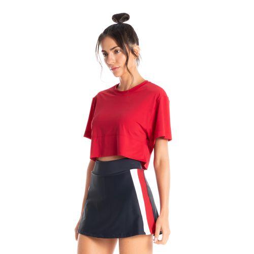 Camiseta-Crop-Fluity-Replay-Vermelho-Daniela-Tombini