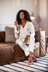 pijama americano plus size branco