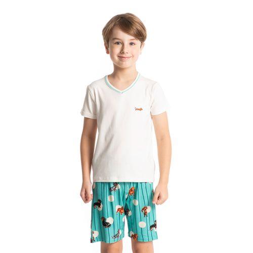 Pijama-Infantil-Masculino-Curto-Estampado-Pipo-Daniela-Tombini